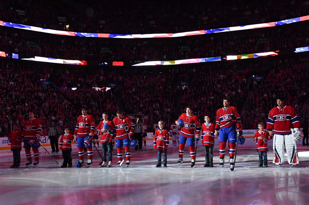 super popular 1d38b 7b07e The Canadiens pay tribute to children of Leucan • Fondation ...