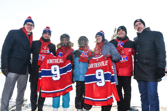 A ninth BBB outdoor rink in Ahuntsic-Cartierville