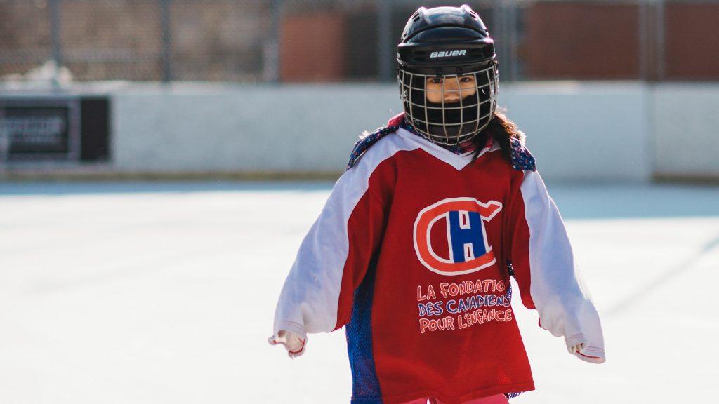 La Fondation des Canadiens pour l'enfance s'associe à Femme d'hockey